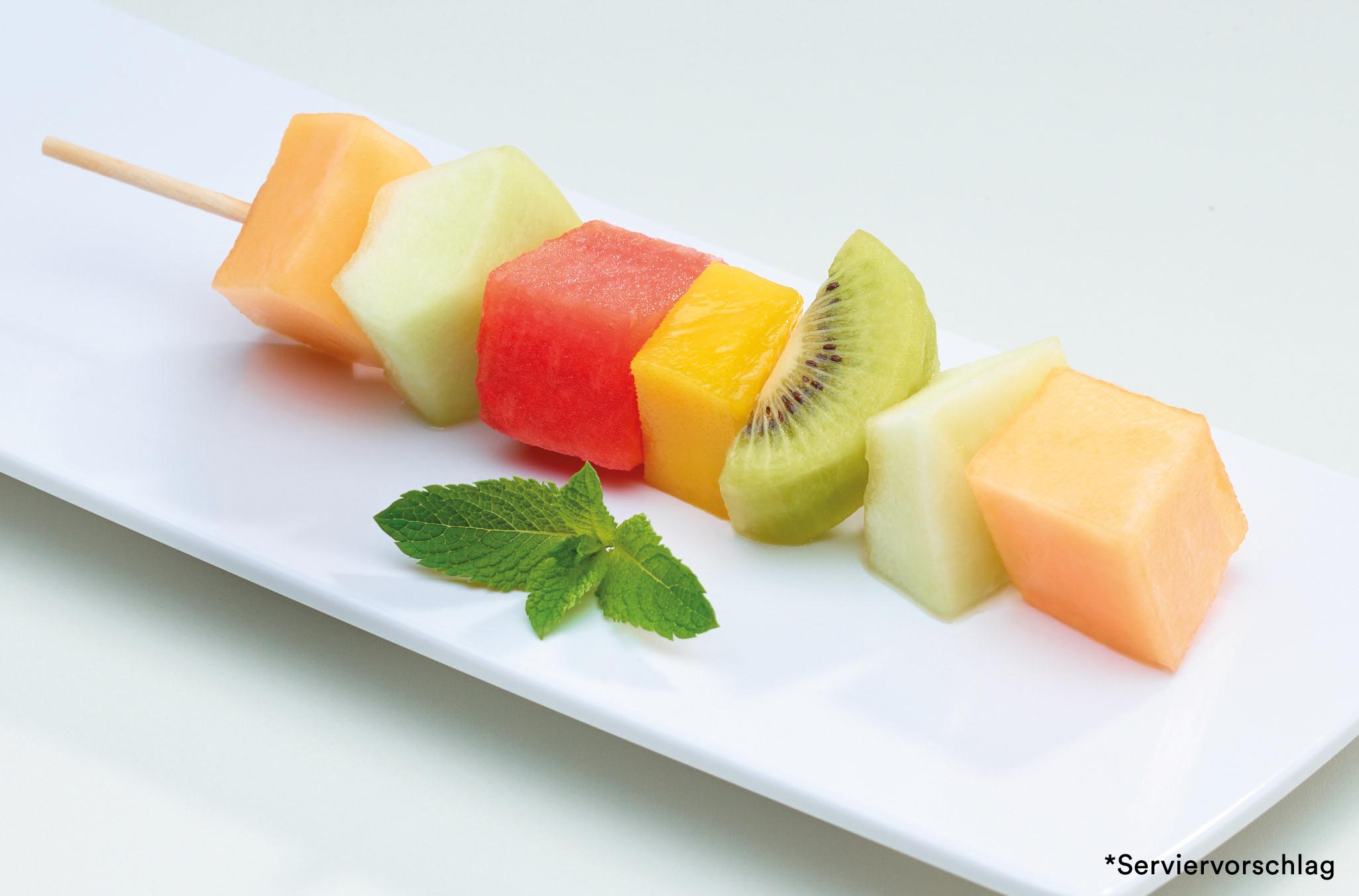 Fruchtspieß Melone
