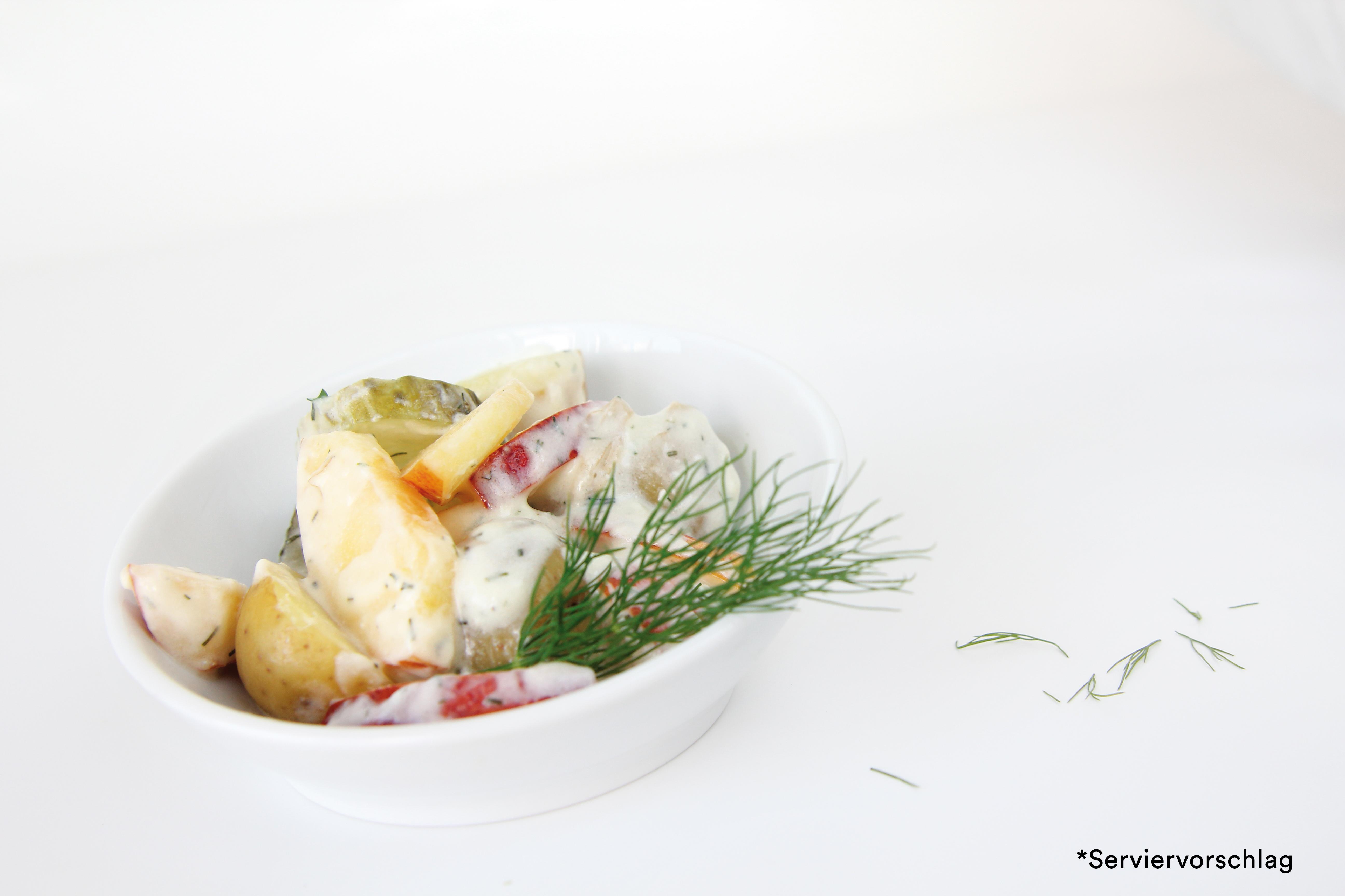 Gourmet Schwedischer Kartoffelsalat mit Apfel