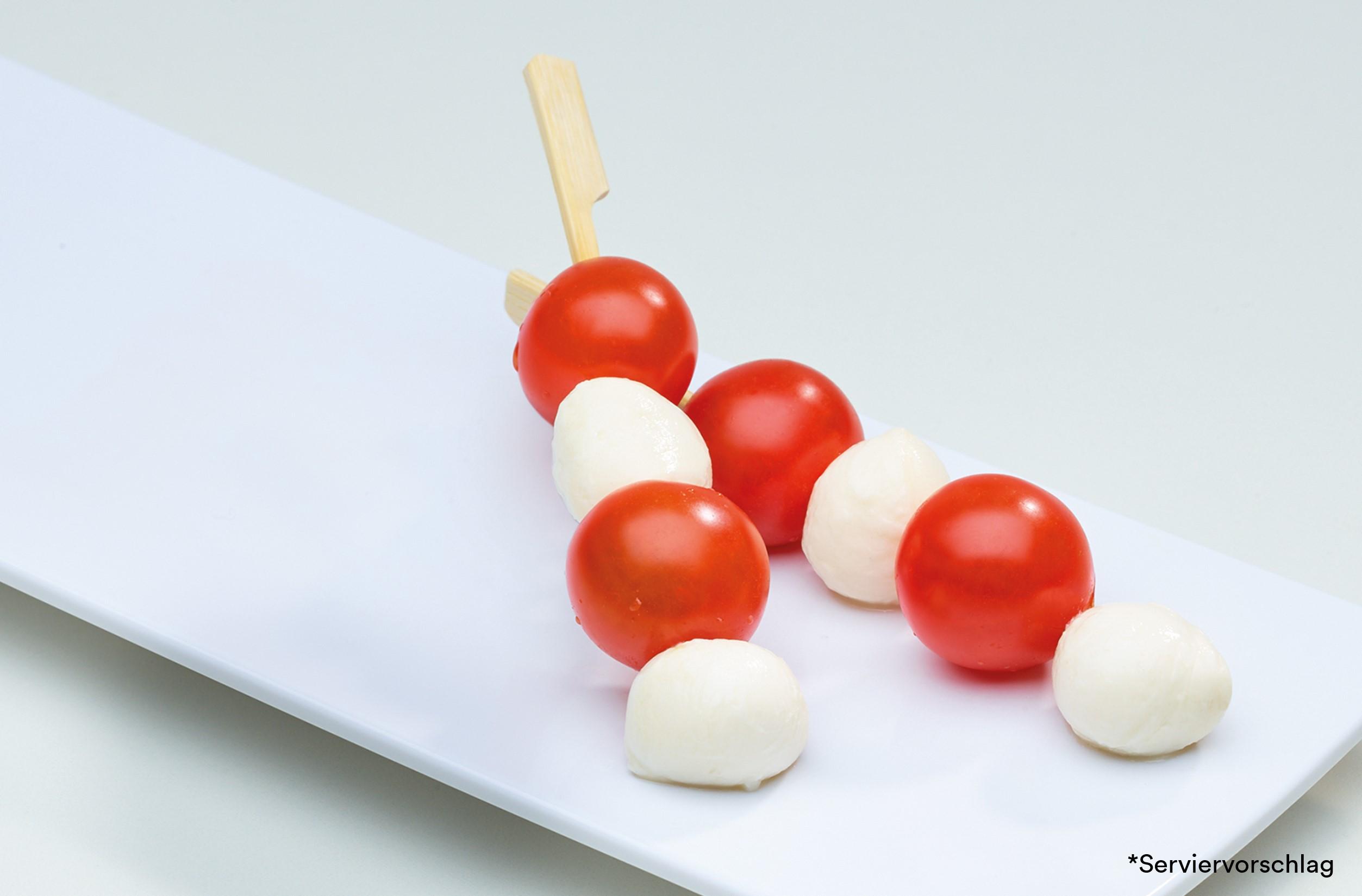 Tomaten-Mozzarella-Spieß