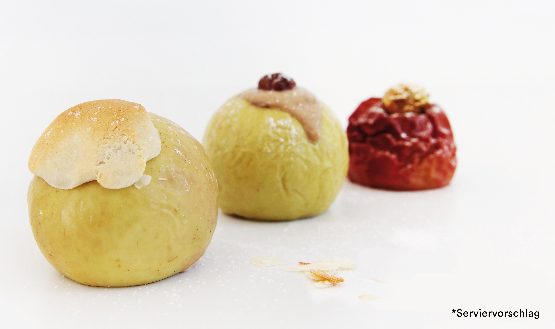 Gourmet Bratapfel klein mit Marzipanfüllung