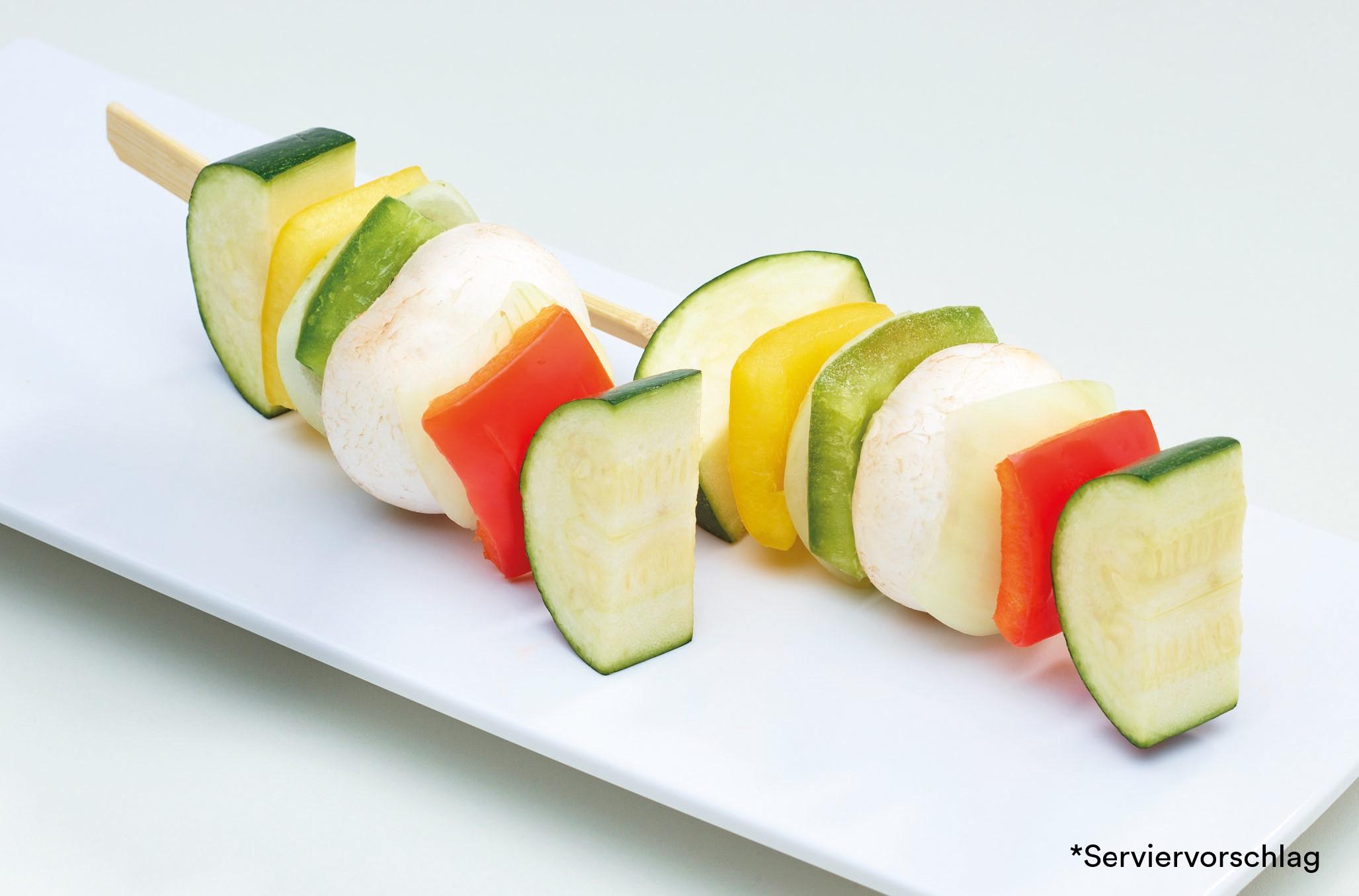Gemüsespieß klein
