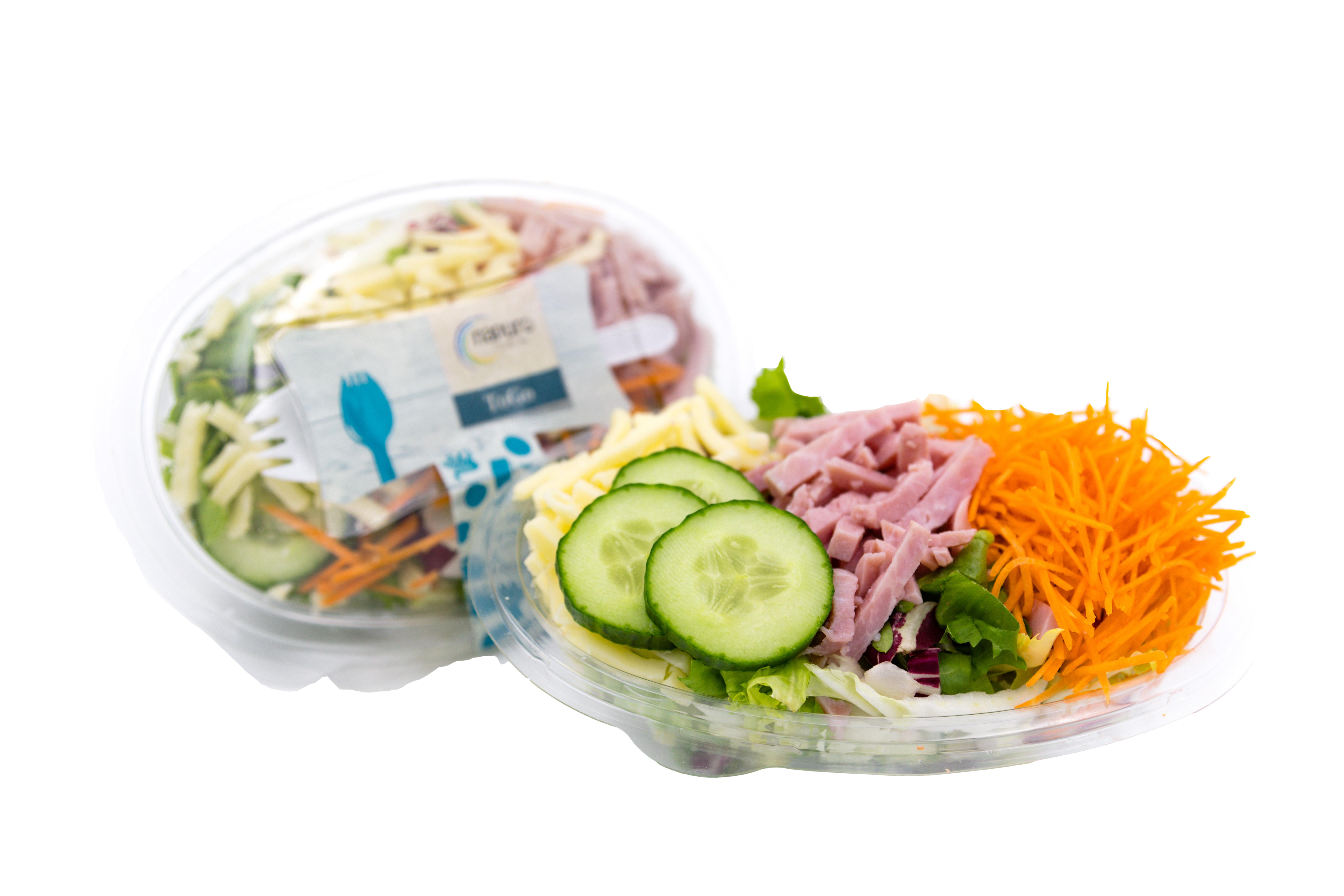 Salatschale Schinken & Käse